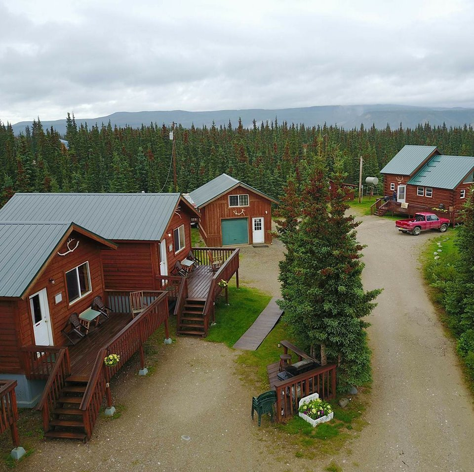 img cabins rentals close up alaska wilderness welcome talkeetna exterior cabin lodge
